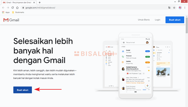 Laman Overview Gmail